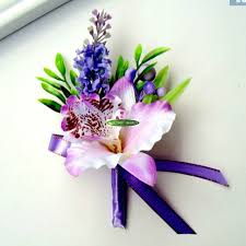 Orchid Corsage Online Shop 10pcs Fabric Handmade Party Artificial Orchid Corsage