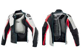 bike riding vest this motorcycle airbag jacket will automatically inflate when it
