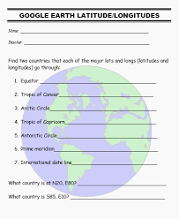 ideas of geography worksheets middle in form