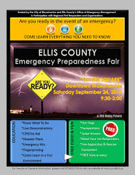 ellis county tx official website emergency preparedness fair