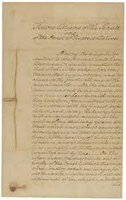 on exhibit george washington u0027s first inaugural address and bible