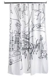 luxury shower curtains bathroom with exotic palm tree shower