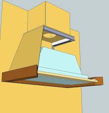 fabriquer hotte cuisine comment installer une hotte aspirante construire de cuisine