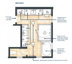 his and bathroom floor plans master bath makeover pro remodeler