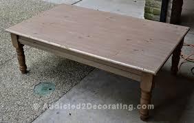 Hardwood Coffee Table My Experience Staining Wood With Tea Steel Wool And Vinegar