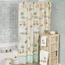 curtains beach themed shower curtains coastal bathroom ideas