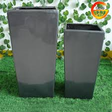 Square Planter Pots by Tall Tapered Square Garden Planter Pots For Wholesale Buy