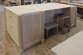 building your own kitchen island a custom kitchen island finewoodworking