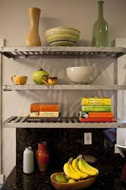 Open Metal Shelving Kitchen by 58 Best Open Shelving Images On Pinterest Kitchen Home And Open