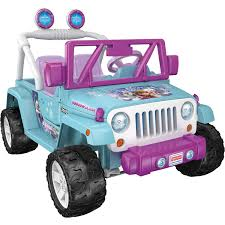 aqua jeep wrangler power wheels disney frozen jeep wrangler 12 volt battery powered