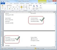 mail merge for dummies creating address labels using word and
