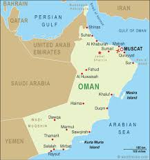map of oman oman map oman maps and travel guides