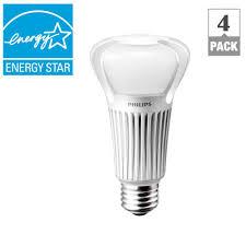 75 watt led light bulbs philips 75 watt equivalent a21 dimmable led light bulb soft white