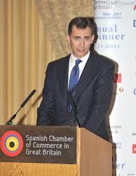 chambre de commerce espagnole en felipe d espagne assiste à l anniversaire de la chambre de commerce