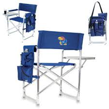 Folding Chair With Table Kansas Jayhawks Outdoor Furniture Ku Chairs Picnic Tables