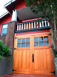 open swing garage doors