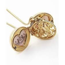 monogram locket couture monogram locket necklace polyvore