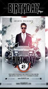 free birthday flyer