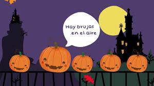 cinco calabazas halloween five pumpkins kids songs
