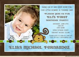1st birthday invitations boy 1st birthday invitation wording ideas