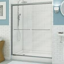 900 Shower Door Maax Inc 105414 900 084 Session 48 Shower Clear Chrome