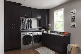 Dark Shaker Kitchen Cabinets Midtown Dark Shaker