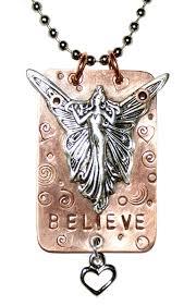 handmade angel necklace images Handmade necklace jewelry for bikers believe necklace enjoy jpg