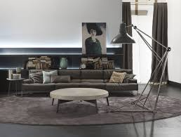 Industrial Living Room by Use Floor Lamps In Your Industrial Style Living Room
