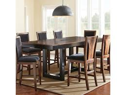 granite dining room table julian counter height dining table with granite insert morris