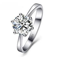 sterling wedding rings images Romantic wedding rings jewelry cubic zirconia sterling silver ring jpg