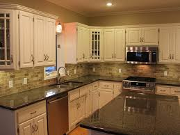 backsplash for kitchen with white cabinet kitchen backsplash ideas with white cabinets
