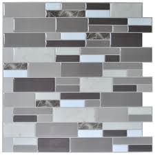 sticky backsplash for kitchen kitchen menards mosaic tile smart tiles lowes peel and stick