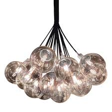Orb Ceiling Light Bubble Glass Cluster Pendant Orbs Ceiling Light Barn Light Electric
