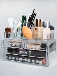 Bathroom Makeup Organizers 14 Best Makeup Vanity Images On Pinterest Makeup Acrylic Makeup