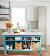do it yourself kitchen island with seating do it yourself kitchen island ideas better homes gardens