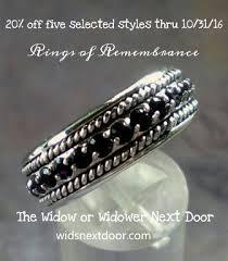widow wedding ring the widow or widower next door