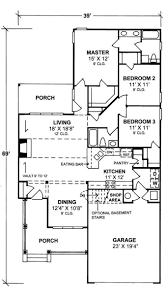 Chp Code 1141 by Bungalow Home Plan 3 Bedrms 2 Baths 1484 Sq Ft 178 1141