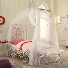 How To Decorate A Canopy Bed Canopy Twin Metal Bed Multiple Colors Walmart Com