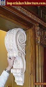 wooden scrolls for cabinets an image illustrating how we build our column capitals and pilaster
