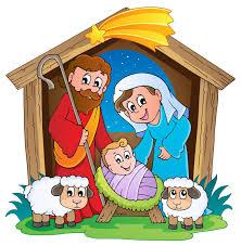 Radio Catolica De Jesus Y Maria Ilustracion Del Nacimiento De Jesus Con Jose Y Maria Para Navidad