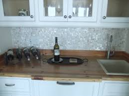 decorative backsplash behind stove refinish particle board