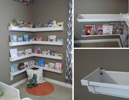 Bookcase For Kids Room by Best 20 Rain Gutter Shelves Ideas On Pinterest Bookshelves For