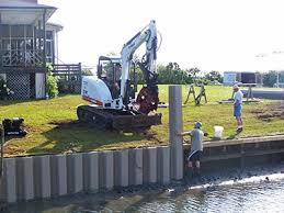 Steel Sheet Piling Cost Estimate by Vinyl Sheet Piling Everlast Synthetic Products