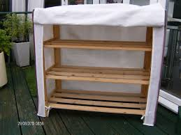 diy shoe rack storage and shelves made from reclaimed wood plus
