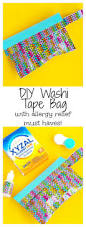 Washi Tape What Is It Diy Washi Tape Bag With Allergy Relief Must Haves Val Event Gal