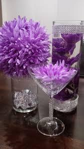centerpiece ideas mesmerizing purple centerpiece ideas 53 purple wedding centerpiece