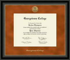 college diploma frames georgetown college diploma frames church hill classics