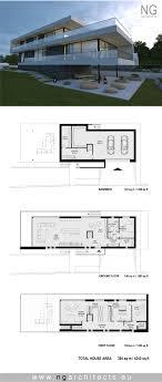 villa house plans modern house plan villa g by ng architects modern home