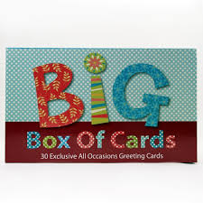 big box of cards 30 cards for all occasions