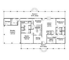 4 bedroom ranch floor plans rectangular house plans 4 bedroom ranch floor plans thepearlofsiam com
